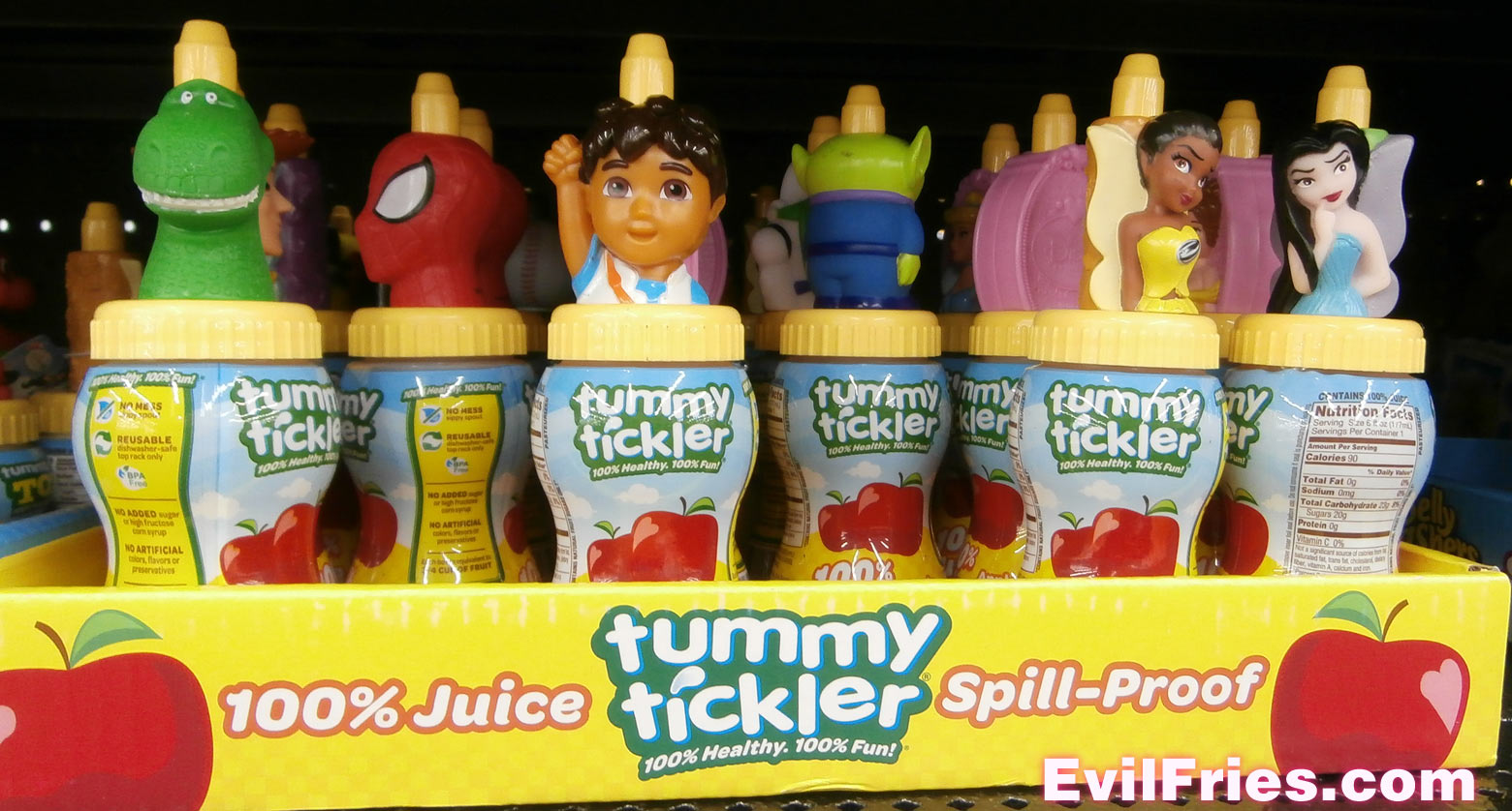 Juice tummy tickler